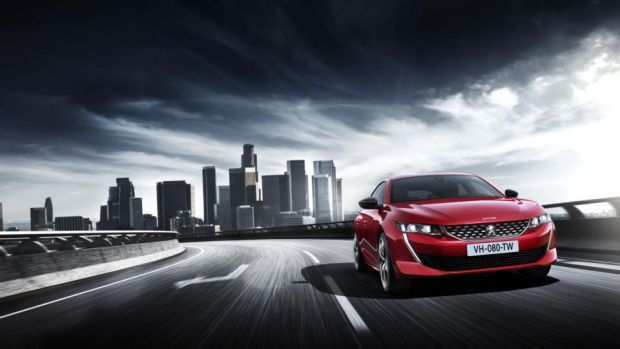 New Peugeot 508: admirably sleek and sexy but hard pressed to challenge buyers' preference for SUVs
