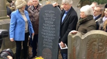 Child shot dead during Easter Rising given headstone 102 years on