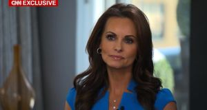 Trump sex allegations: Karen McDougal, the former Playboy Playmate who says she had an affair with the president, talking to Anderson Cooper on CNN
