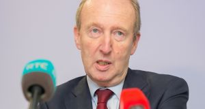 Minister for Transport Shane Ross is  demanding that the Judicial Appointments Commission Bill be progressed soon. Photograph:  Gareth Chaney Collins