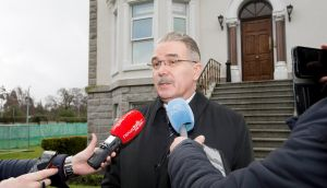"Russia's ambassador to Ireland Yury Filatov at the embassy on Orwell Road said any expulsions of personnel would constitute an ""unfriendly act"". Photograph: Brenda Fitzsimons"