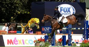A picture from the  Global Champions Tour of Mexico at Campo de Marte. Photograph: Manuel Queimadelos/Oxer Sport