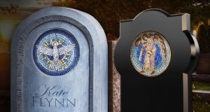 'I wanted to create a headstone that was durable, timeless and beautiful'.