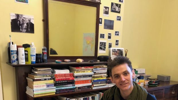 "Rob Doyle: ""My life is fairly transient, so my library is scattered on the four winds."""