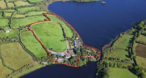 Gulladoo Equestrian Centre and Holiday Village, Co Leitrim. The complex extends to 8.09 hectares (20 acres) and has 550m of frontage on to the shoreline