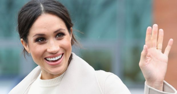 9813788f356 Actor Meghan Markle during a visit to a science park in Belfast last week.  Photograph