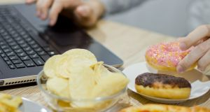 We are surrounded by unhealthy foods in shops and are too time-poor to prepare healthy dinners at home. Photograph: iStock