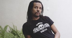 Colson Whitehead: his book traces arrivals at the Port Authority, above and below ground, across bridges and through squares to inevitable departures.Photograph: Sunny Shokrae/New York Times