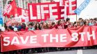 Save the 8th: the anti-abortion group has hired Kanto, a British data-analytics and political-campaigning company run by Thomas Borwick. Photograph: save8.ie