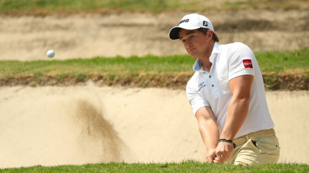 Paul Dunne is up to 78th in the latest world rankings. Photoraph: Gregory Shamus/Getty Images