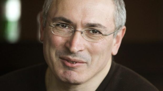 Former Russian oil tycoon Mikhail Khodorkovsky fell foul of Vladimir Putin's regime and was jailed for a number of years before being released after lobbying by the German government. Photograph: Sergey Dolzhenko/EPA