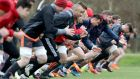 Munster squad training in UL  on Monday. Phototgraph: ©INPHO/Bryan Keane
