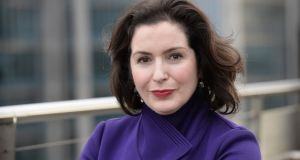 Bank of Ireland chief executive Francesca McDonagh, who is planning to streamline its management ranks in a bid to cut costs. Photograph: Dara Mac Donaill / The Irish Times