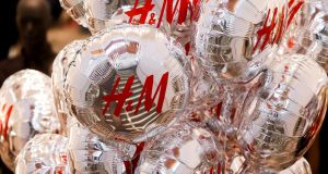 H&M's operating profit fell 62 per cent in the three months through February. Photograph: Maxim Shemetov/Reuters