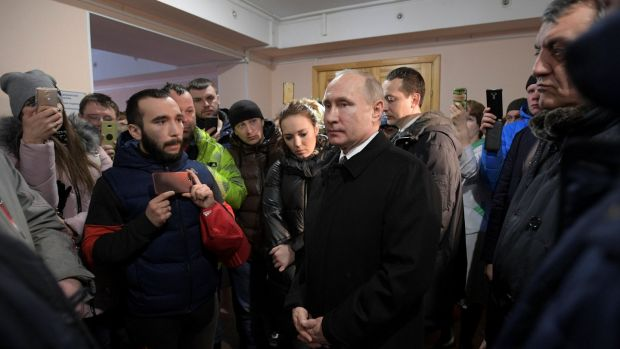 Putin Blames Russia Mall Fire On 'Criminal Negligence