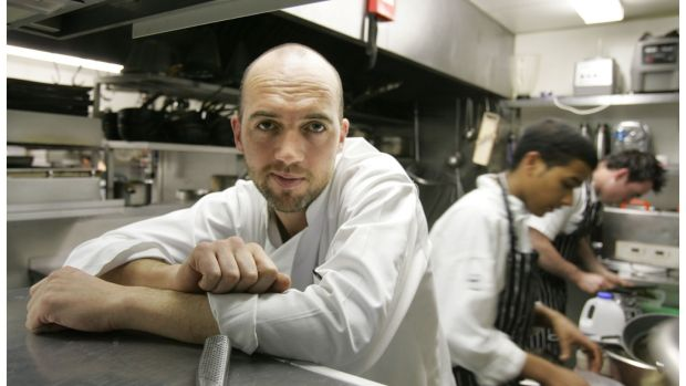 Dylan McGrath during his days as a chef at Mint in Ranelagh. File photograph: Photograph: Alan Betson