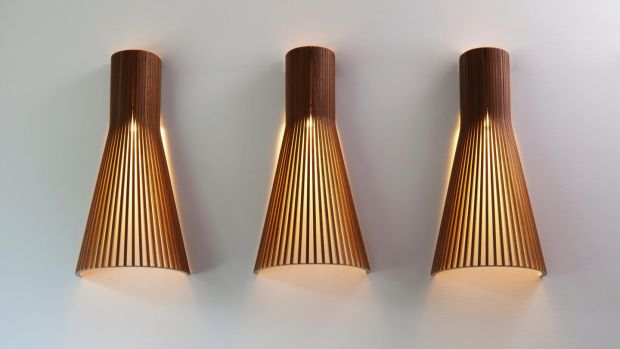 Secto Design: These wall lights come in a couple of different sizes and prices start from about €430 from Dublin-based Hicken Lighting.