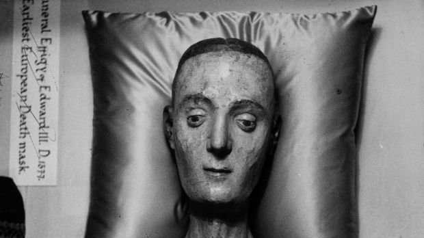 The funeral effigy of Catherine of Valois at Westminister Abbey in London. Photograph: David E Steen/Hulton Archive/Getty Images