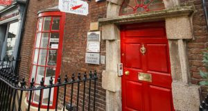 24 South Frederick Street, Dublin 2, home of the Doorway Gallery