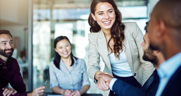 """""""For those women who decide to engage in entrepreneurial activity, they are positioned  as a discrete and separate category with their own label – female entrepreneurs or 'mummypreneurs'."""" Photograph: Getty Images"""