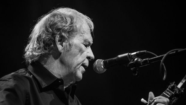 Finbar Furey on stage. In 1997, Furey made the decision to go solo after decades of playing with his brothers.
