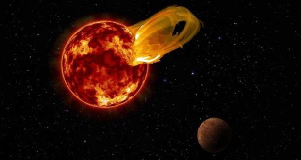 Birr Radio Telescope Catches Flaring Red Dwarf 75 Trillion Kilometres Away