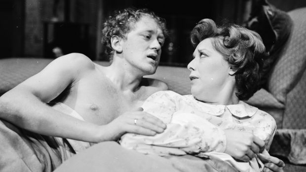 Playing Rodney Dangerfield in The Ginger Man in November 1963. Photograph: Ronald Dumont/Express/Getty Images
