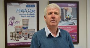 Barry Smith of Abcon Industrial Products, which is based in Cootehill.