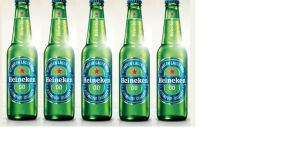 For Heineken 0.0 two different beers were selected and then blended together to create the final product