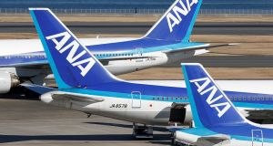 All Nippon Airways  planes at Haneda airport, Tokyo: has increased code-share flights with Lufthansa, between Dublin and Frankfurt/Munich, cutting connection time to Japan. Photograph: Toru Hanai