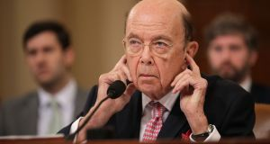 "US commerce secretary Wilbur Ross: ""I have determined that reinstatement of a citizenship question on the 2020 decennial census is necessary to provide complete and accurate data..."". Photograph:  Chip Somodevilla/Getty Images"