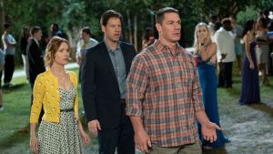 Leslie Mann, Ike Barinholtz, and John Cena in Blockers. Photograph: Universal Pictures