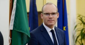 "Simon Coveney said that he regarded himself as ""someone who traditionally comes from a pro-life position"". Photograph: Alan Betson / The Irish Times"