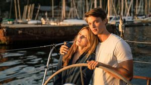 "Bella Thorne and Patrick Schwarzenegger star in ""Midnight Sun"". Photograph: Open Road Films / TNS"