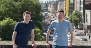 Plynk  co-founders Clive Foley and Charles Dowd who said the company had stopped taking on new customers and acknowledged there were financial difficulties