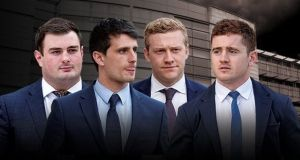 The four accused in the rape trial of Ireland and Ulster players Paddy Jackson and Stuart Olding have been acquitted of all charges