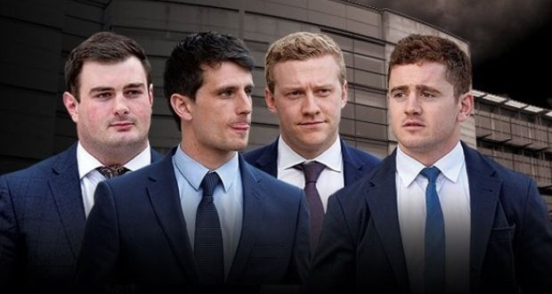 c22e4e3617d0ed The four accused in the rape trial of Ireland and Ulster players Paddy  Jackson and Stuart