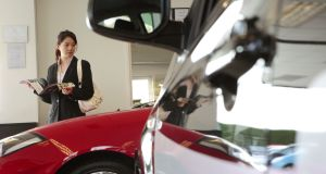 The Central Bank said about 30 per cent of new cars are financed by PCP contracts
