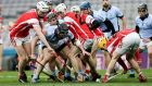 Cuala v Na Piarsaigh in the All-Ireland final:  Club games like  we saw last Saturday night can prove an an antidote to the increasingly overly-structured inter-county game. Photograph: Gary Carr/Inpho