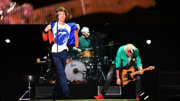 The Rolling Stones: at Croke Park. Photograph: Mark Ralston/AFP/Getty