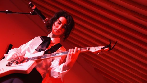 St Vincent: at Electric Picnic. Photograph: Michael Loccisano/Getty