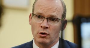 Simon Coveney: support for the Government's proposals was 'conditional'. Photograph: Alan Betson/The Irish Times