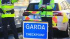 Gardaí will mount   checkpoints across the State this weekend. Photograph: Collins