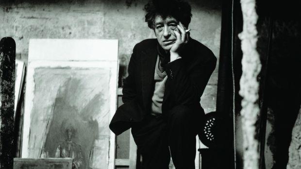 Alberto Giacometti dans son atelier, Paris, Décembre 1957