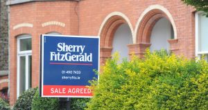 Estate agents Sherry Fitzgerald reported on Thursday that house prices rose by 2.1 per cent in the first three months of 2018, compared with 1.9 per cent during the same period last year