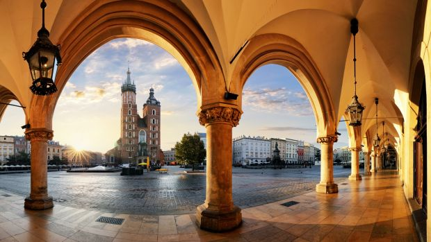 Kraków: Poland's second city is widely recognised as its first when it comes to beauty, with ancient squares and rambling markets. Photograph: iStock