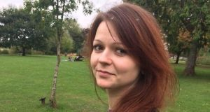"Yulia Skripal: ""She has responded well to treatment but continues to receive expert clinical care 24 hours a day."" Photograph: Facebook"