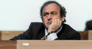 Former Uefa president Michel Platini believes he will be eventually be cleared of any criminal wrongdoing. Photograph: Fabrice Coffrini/AFP/Getty Images