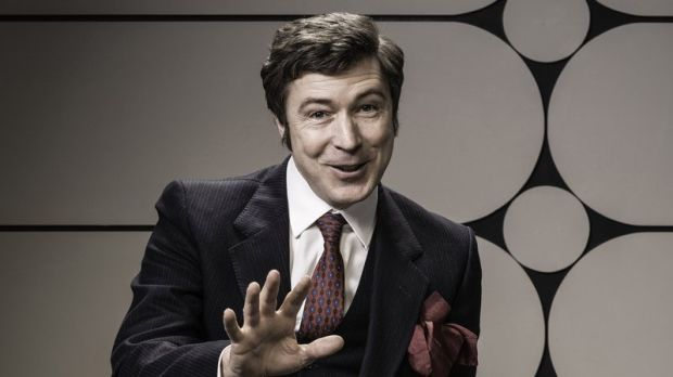 Aiden Gillen as comedian Dave Allen in 'Dave Allen at Peace'. Photograph: RTÉ