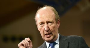 Minister for Sport Shane Ross:  review of the current Sports Capital Grants system could see fee-paying schools being excluded in future.  Photograph: Barbara Lindberg.